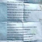 Sehit Akif Hatunoglu'nun vasiyeti cebinden cikti